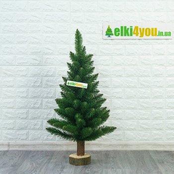 Елка Зеленая Elegant на пеньке 85 см