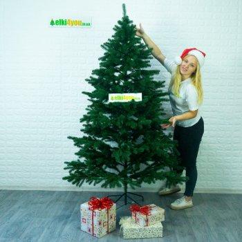 Ялинка Лита Ковалівська Зелена 2,1 м