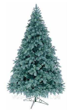 Литая елка голубая